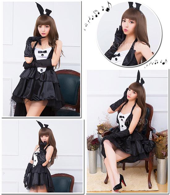 バニーガール コスプレ セクシー アニマルコスチューム 衣装 SEXY ワンピース