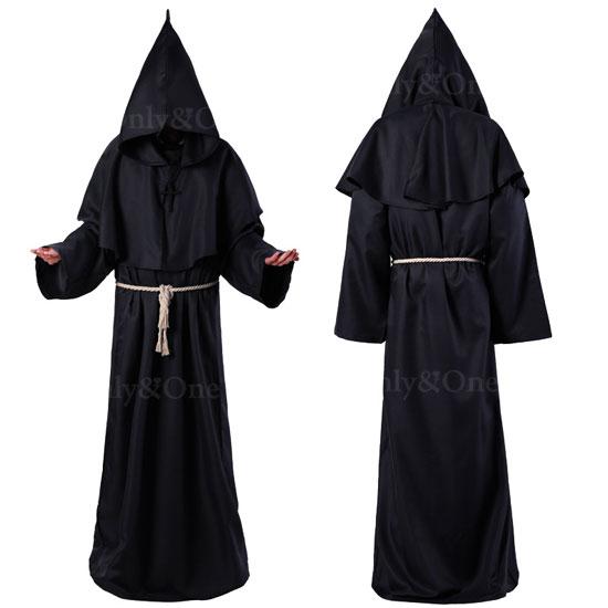 修道院 シスター コスプレ ローブ コスチューム コロナ対策 男女版あり