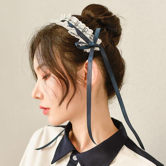 セーラー服 セクシーコスプレ ミニ丈トップス 半スケミニスカート 可愛い頭飾り Tバックセット