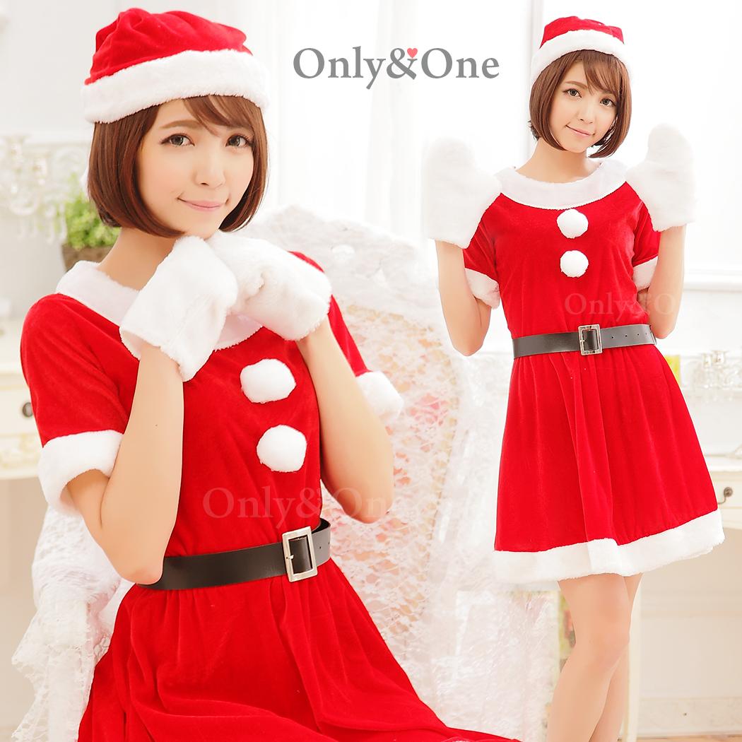 サンタコスプレ もこもこ手袋クリスマスコスチューム衣装