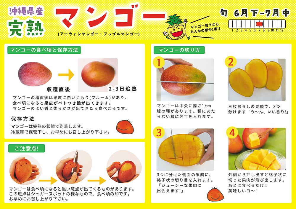 【U-1】優品マンゴー 1kg(2〜3玉)化粧箱入り(発送期間7月上旬-7月下旬)