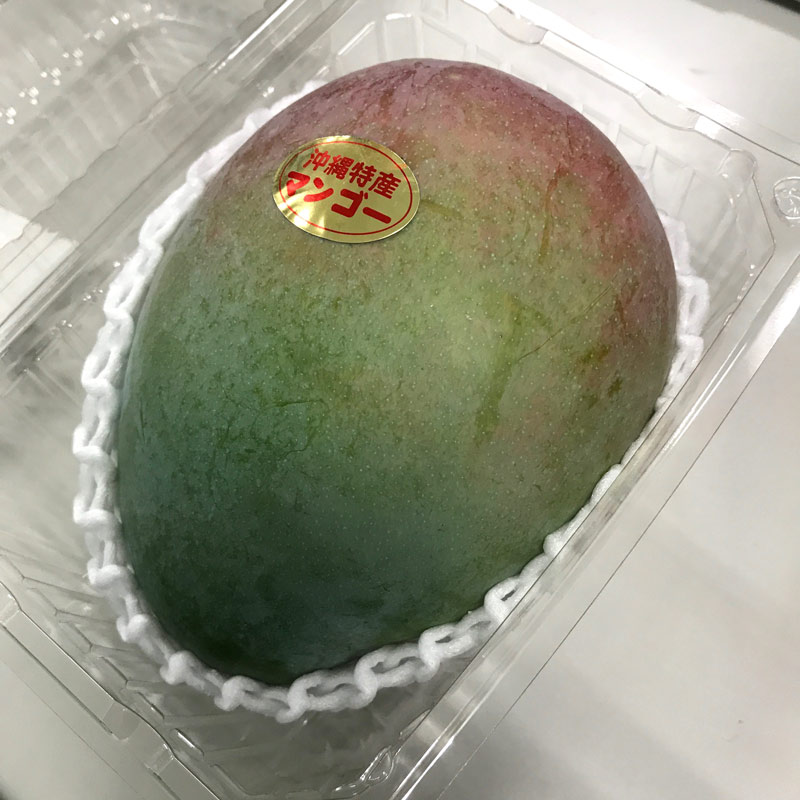 【2020年の販売は終了しました】【キーツマンゴー 1玉パック】限定数 沖縄県産 【C-1】