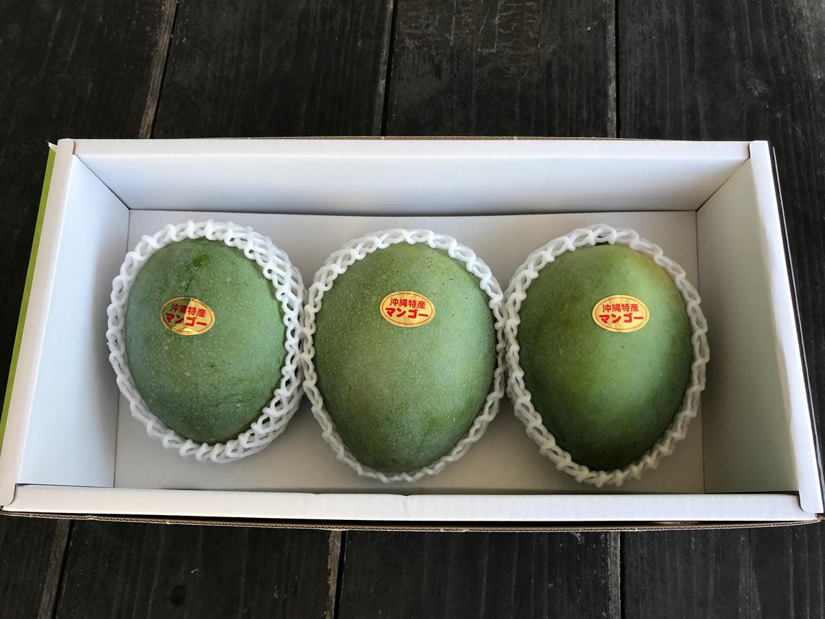 【特選 キーツマンゴー】2-3玉箱入り 限定数 沖縄県産【C-2】
