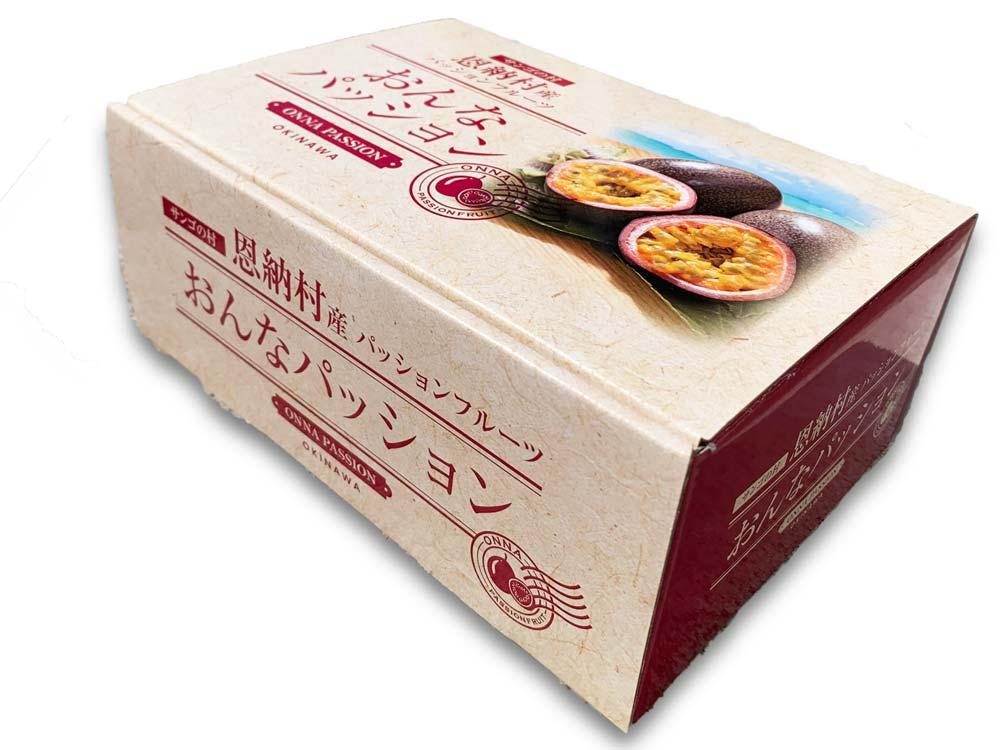 【 パッションフルーツ 】 5-6玉 箱入 贈答用 おんなパッション 恩納村特別認定栽培