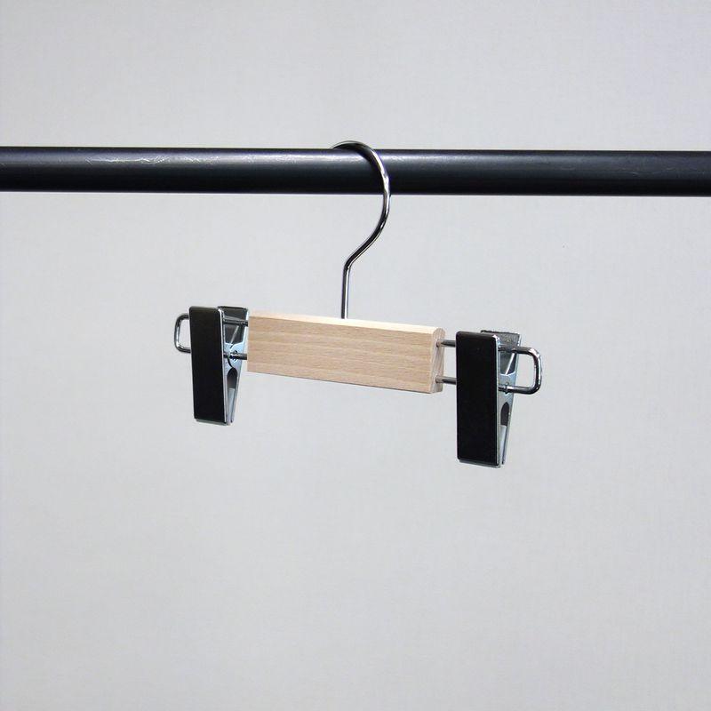 キッズ用木製ボトムハンガー(1セット10本入):PL-05K