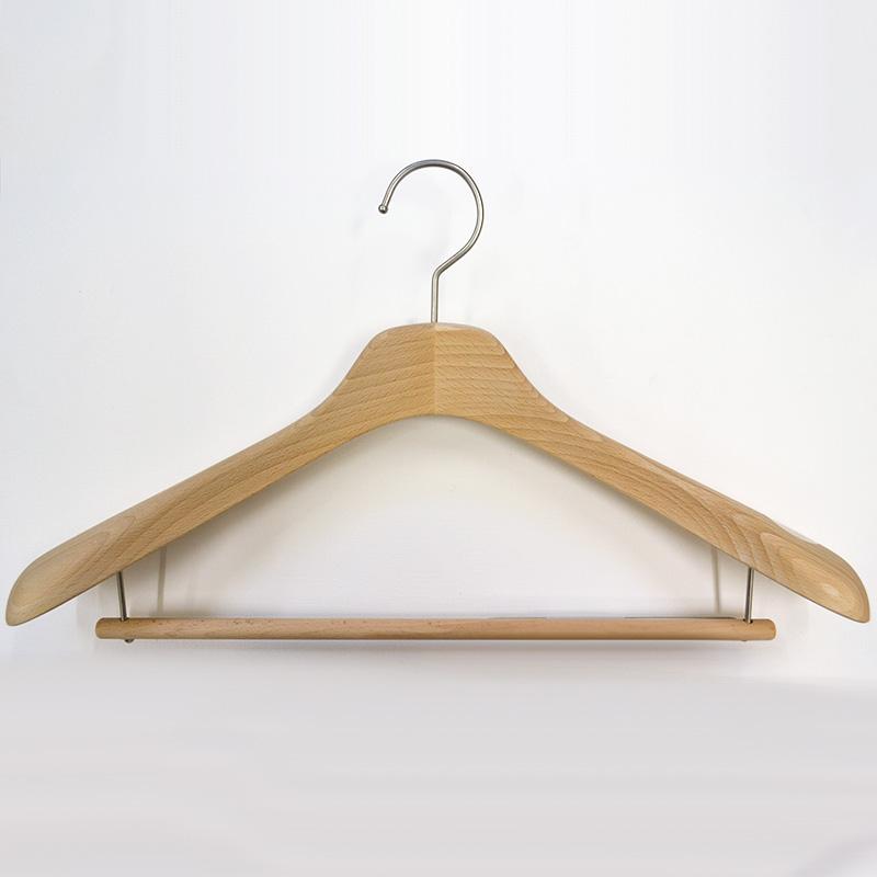 メンズ用バー付きコート・ジャケット用ハンガー