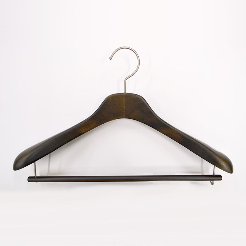 レディース用バー付きコート・ジャケット用ハンガー