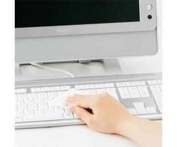 【サンワサプライ】 (15枚×2パック) CD-WT1P30 [ CDWT1P30 ] OAウェットティッシュ パソコン用
