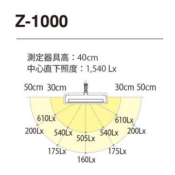 Z-1000B [ Z1000B ] 【山田照明】 Z-LIGHT LEDデスクライト ブラック