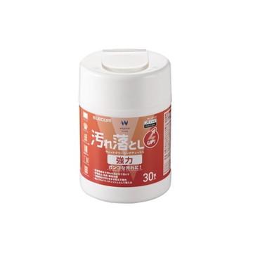 WC-JU30N2 [ WCJU30N2 ] 【エレコム】 ウェットティッシュ 汚れ落とし 強力 ボトル 30枚