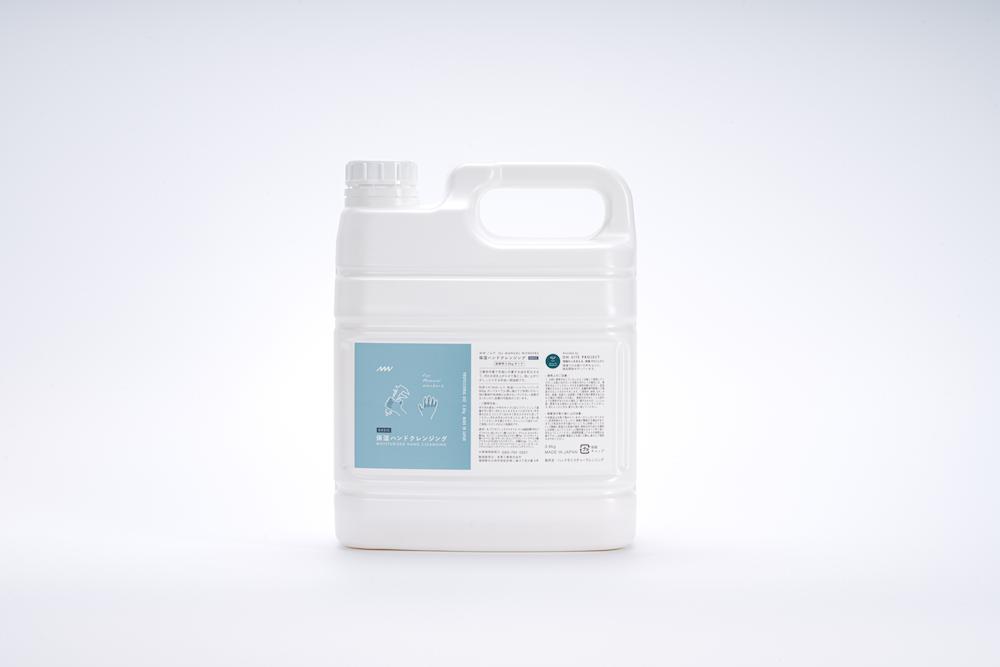 MW(ムウ)保湿ハンドクレンジング 詰替用3.6kgタンク