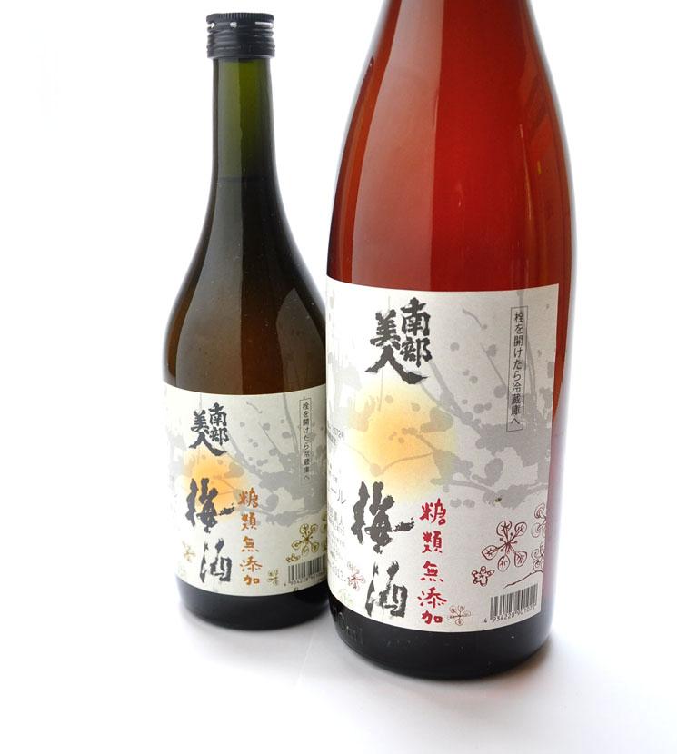 【梅酒】南部美人 糖類無添加 梅酒<1,800ml>