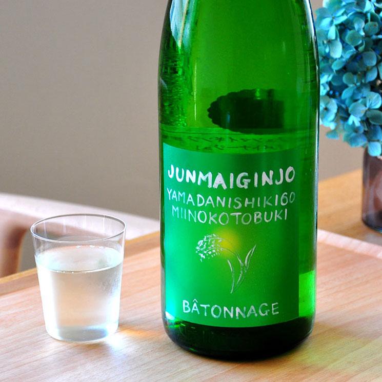 【日本酒】三井の寿 純米吟醸 バトナージュ<1,800ml>