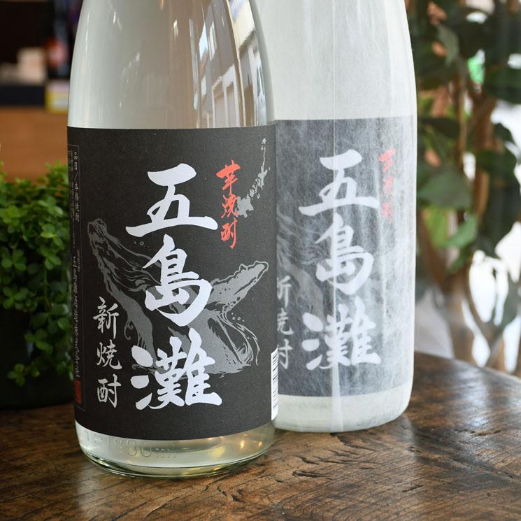 【芋焼酎】五島灘 新焼酎 黒麹<1,800ml>