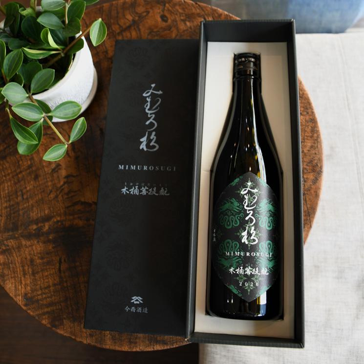 【日本酒】みむろ杉 木桶菩提もと 2020酒造年度 東 木桶-壱号<720ml>
