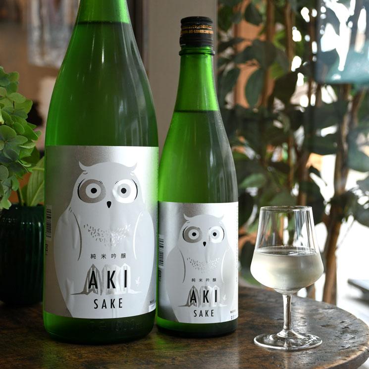 【日本酒】寒紅梅 AKI酒 ふくろうラベル<1,800ml>