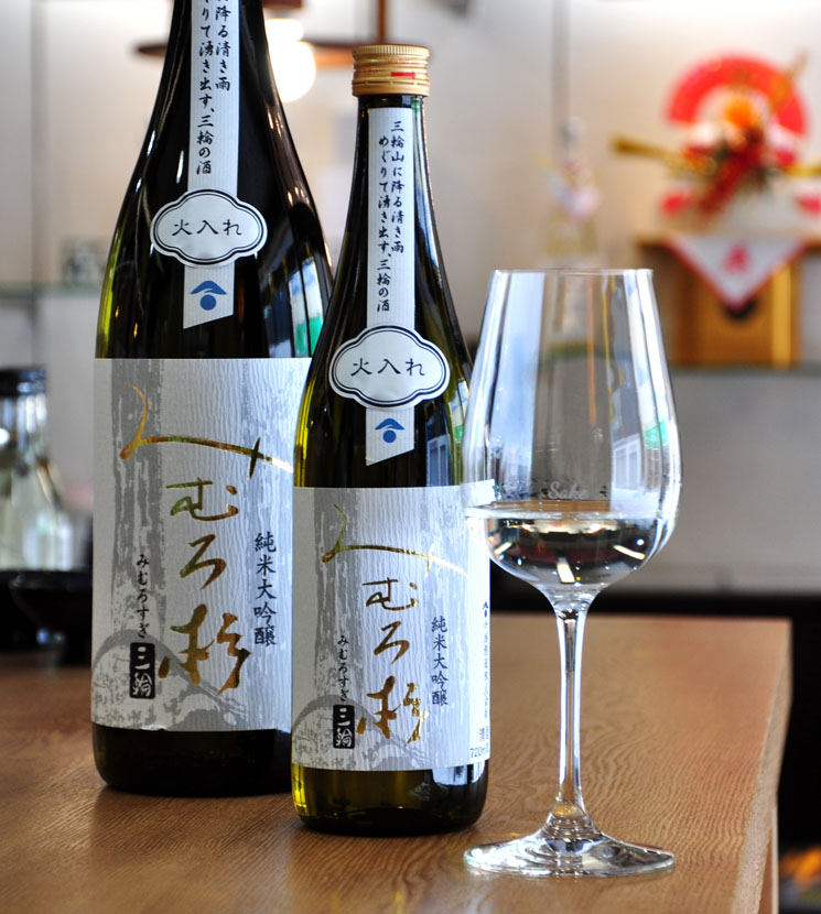 【日本酒】みむろ杉 純米大吟醸 山田錦<720ml>