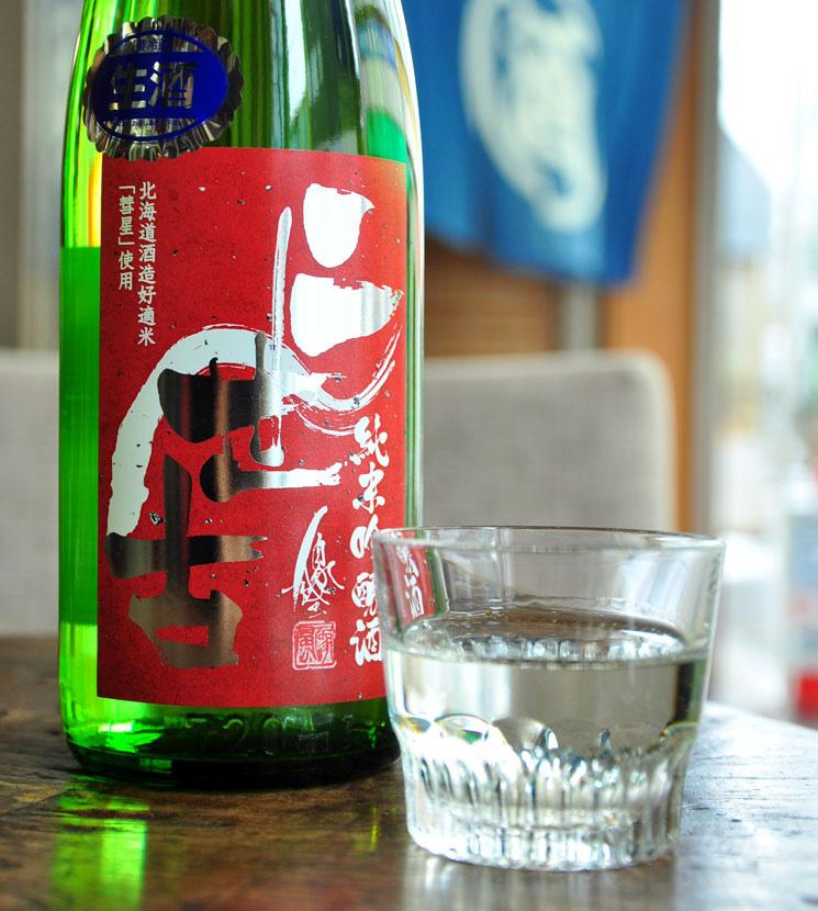 【日本酒】二世古 純米吟醸 彗星 (赤) 火入 <1,800ml>