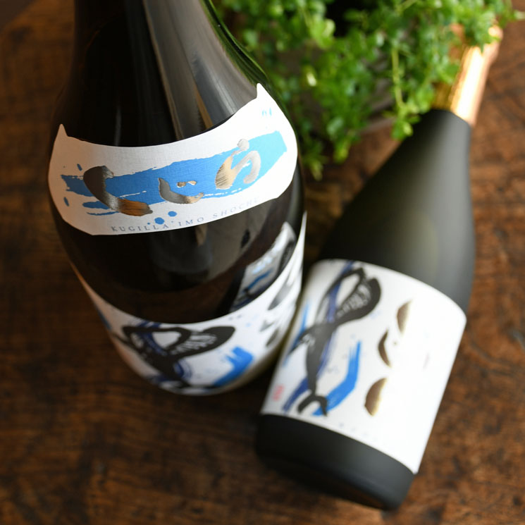 【芋焼酎】くじらのボトル 新酒 (たてくじら)<720ml>
