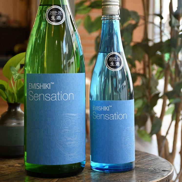【日本酒】笑四季 Sensation BLUE センセーション 青ラベル  生<1,800ml>