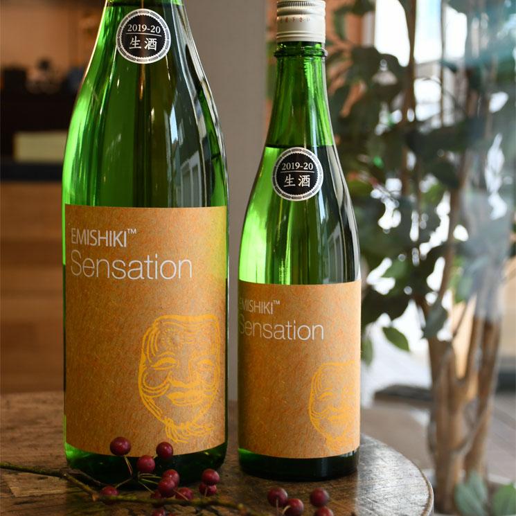 【日本酒】笑四季 Sensation GOLD センセーション金ラベル 生<1,800ml>
