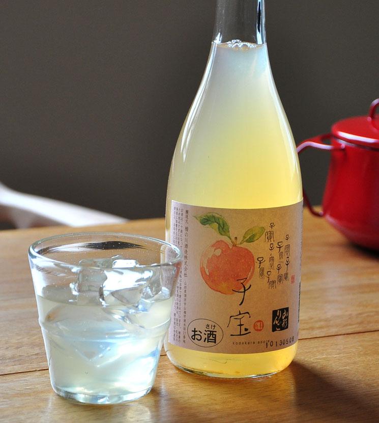 【りんご酒】子宝 山形りんご<1,800ml>