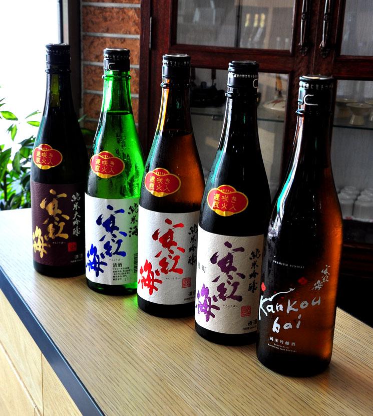 【日本酒】寒紅梅 純米吟醸 山田錦 遅咲き瓶火入れ<1,800ml>