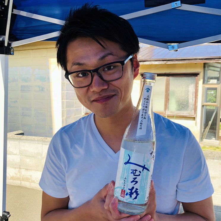 【日本酒】みむろ杉 ろまんシリーズ 純米大吟醸 露葉風<720ml>