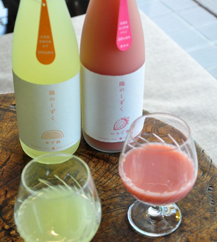 【いちご酒】陽のしずく いちご<720ml>