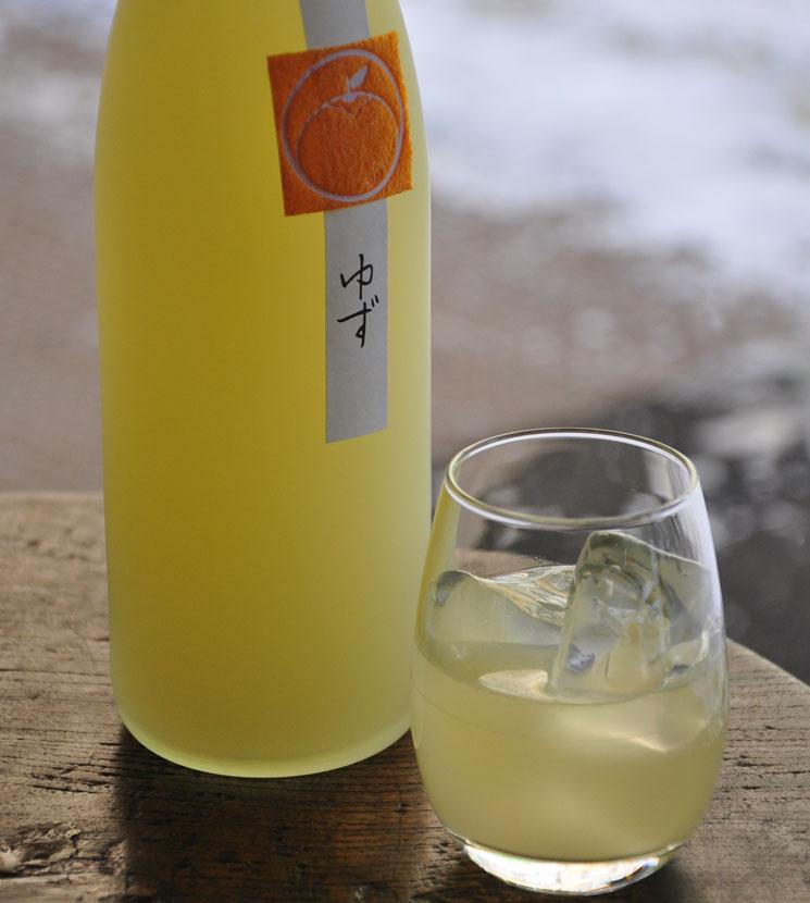 【ゆず酒】鶴梅ゆず<720ml>