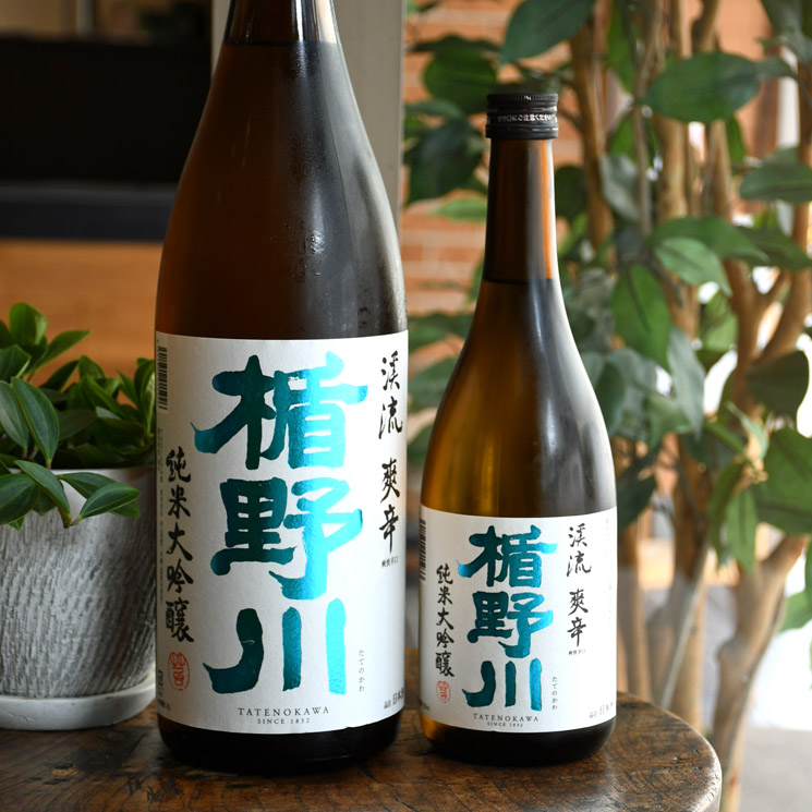 【日本酒】楯野川 純米大吟醸 渓流 爽辛<720ml>