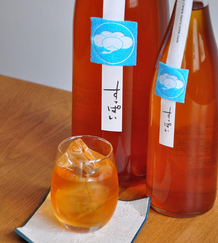 【梅酒】鶴梅すっぱい<720ml>