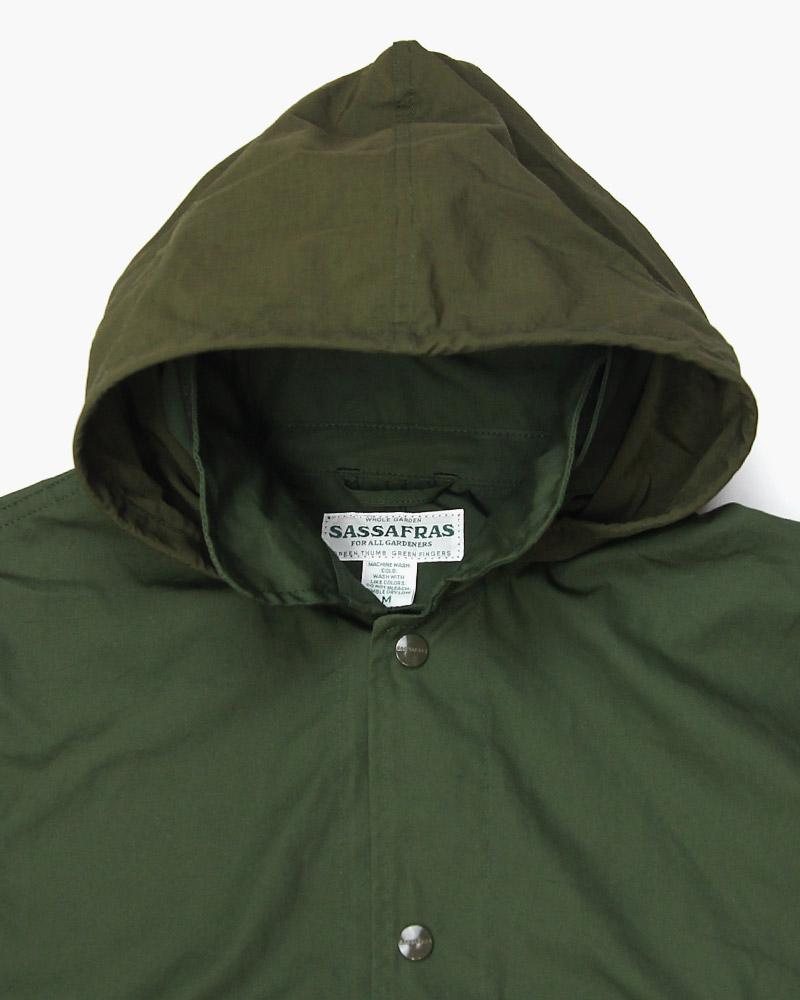 ササフラス オーバーグロウンコート SASSAFRAS OVERGROWN COAT
