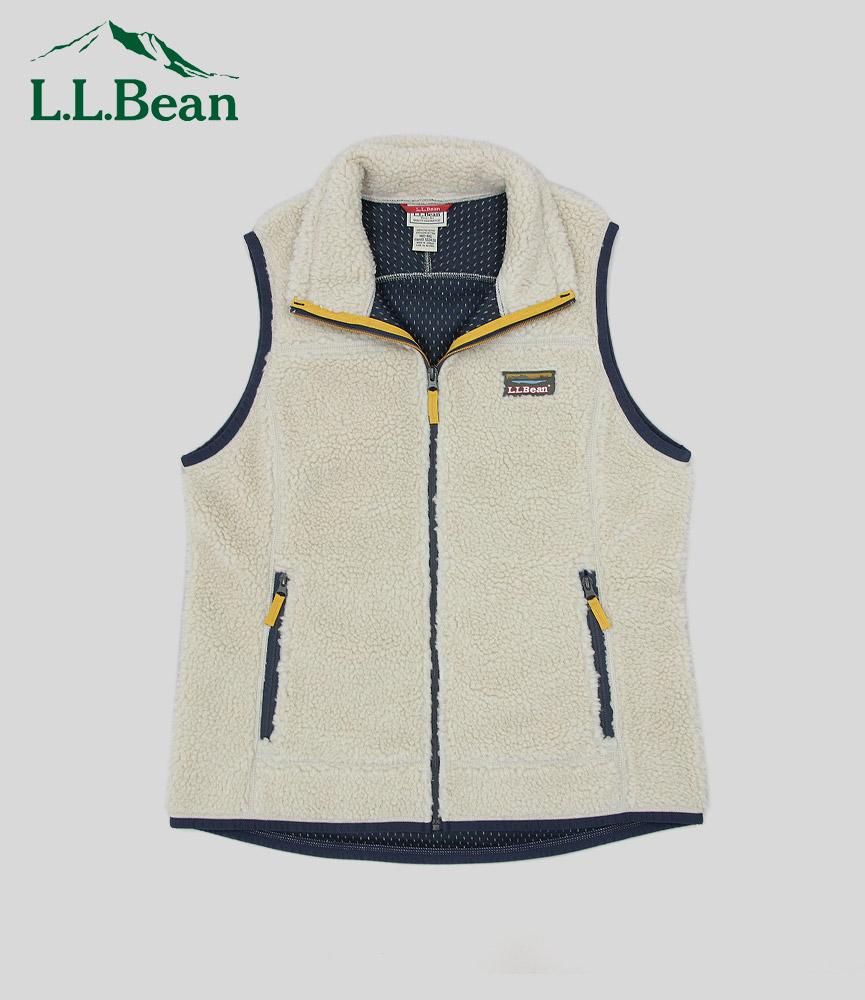 エルエルビーン レディース マウンテンパイルフリースベスト L.L.Bean Women's Mountain Pile Fleese Vest