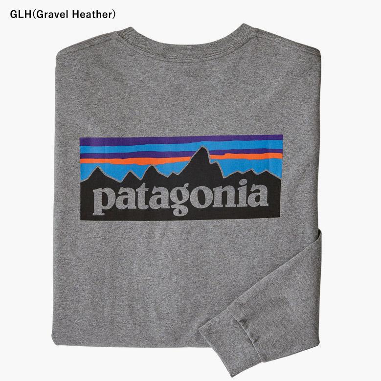 パタゴニア メンズ・ロングスリーブ・P-6ロゴ・レスポンシビリティー Patagonia MS L/S P-6 LOGO RESPONSIBILI-TEE 38518 2020春夏