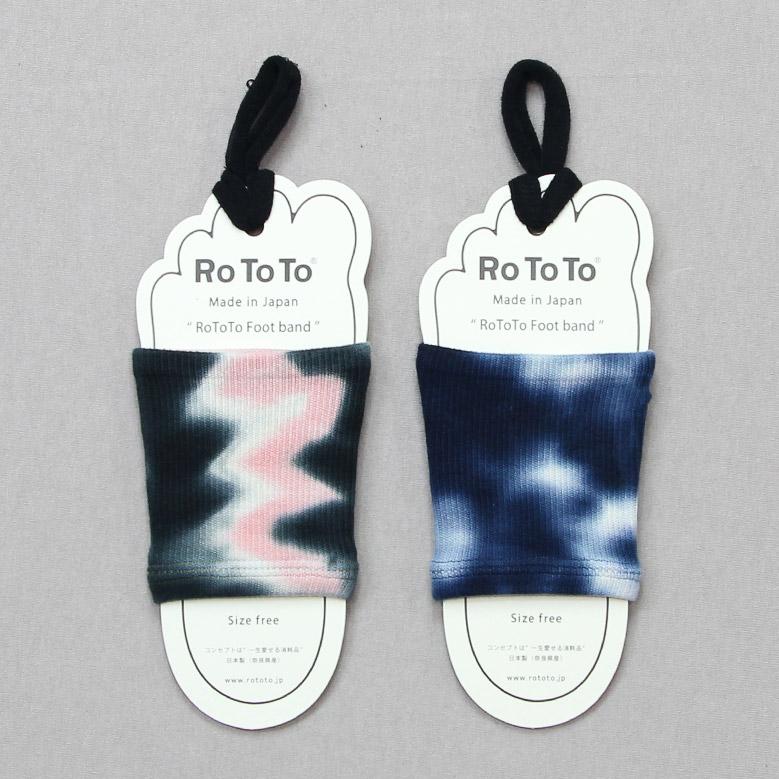 ロトト フットバンド タイダイ RoToTo Foot Band Tie Dye R1082