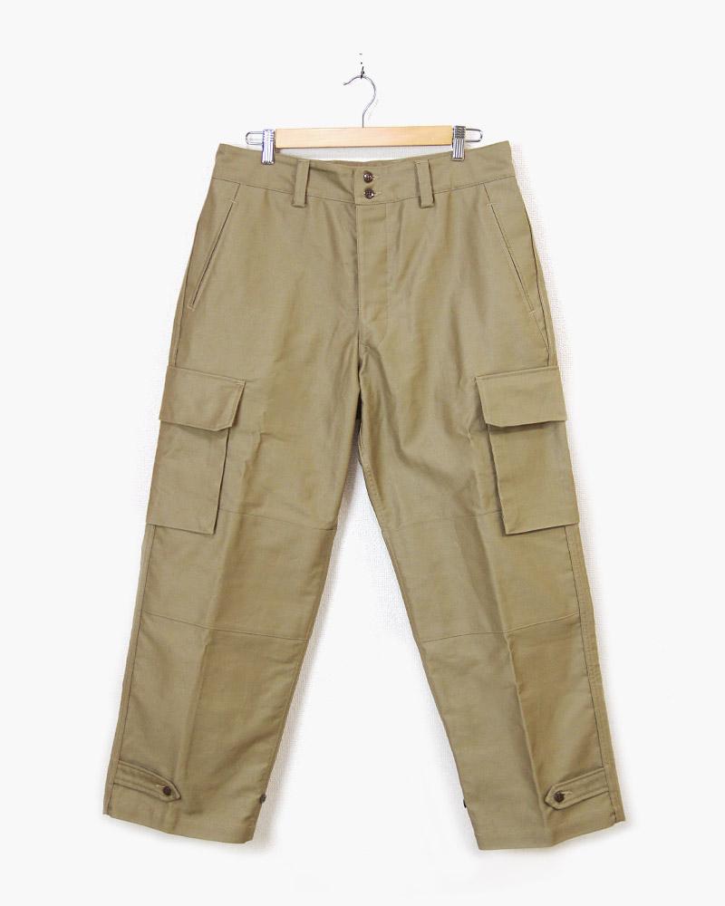 ボンクラ カーゴパンツ デッキクロス カーキ B-47 Cargo Pants Deck Cloth khaki