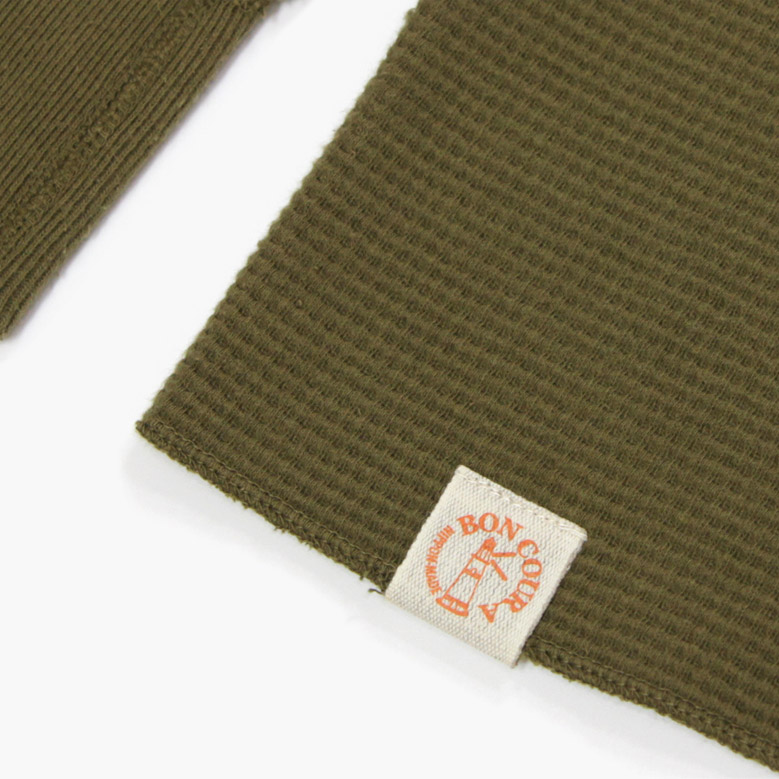 ボンクラ ワッフル長袖 BONCOURA Heavy Weight Thermal Long Sleeves