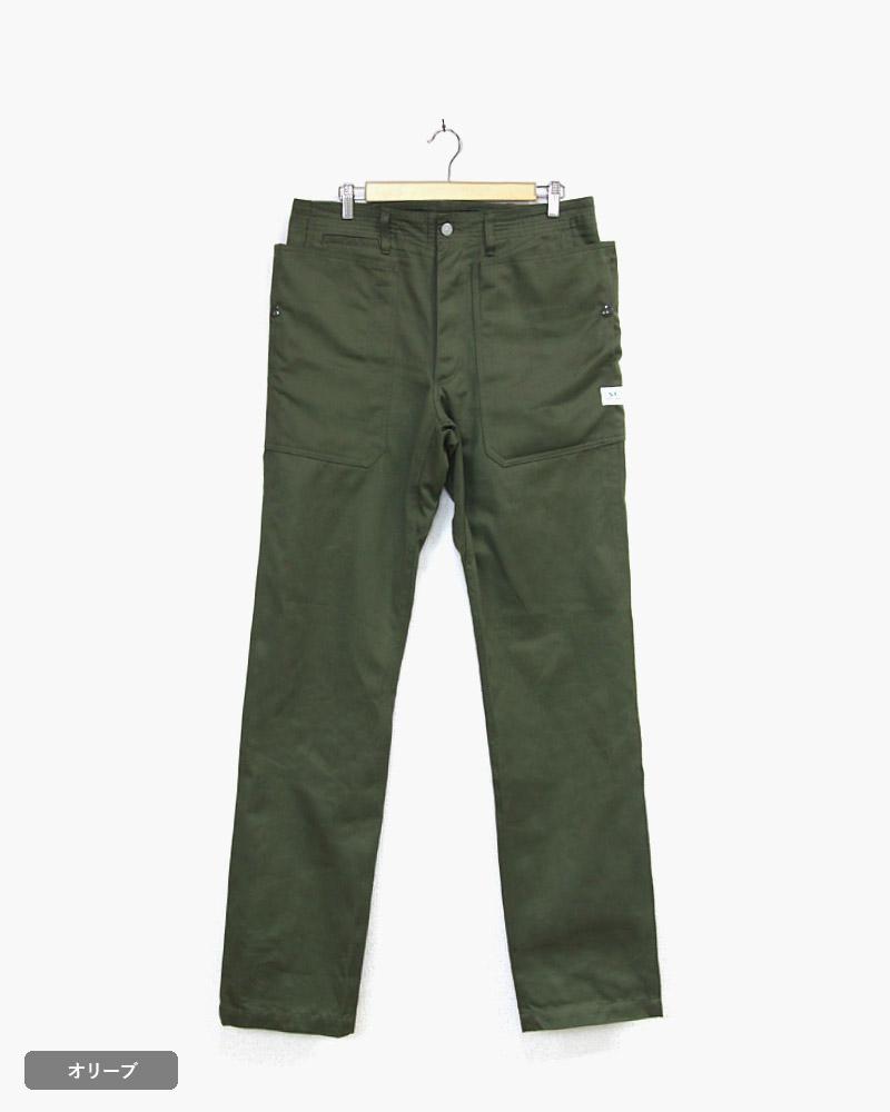 ササフラス フォールリーフスプレイヤーパンツ SASSAFRAS Fall Leaf Sprayer Pants - Giza Cotton West Point