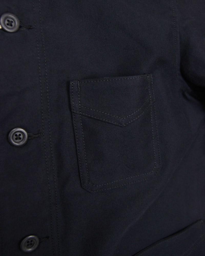 ボンクラ フレンチワークジャケット モールスキン French Work Jacket Moleskin Dark navy
