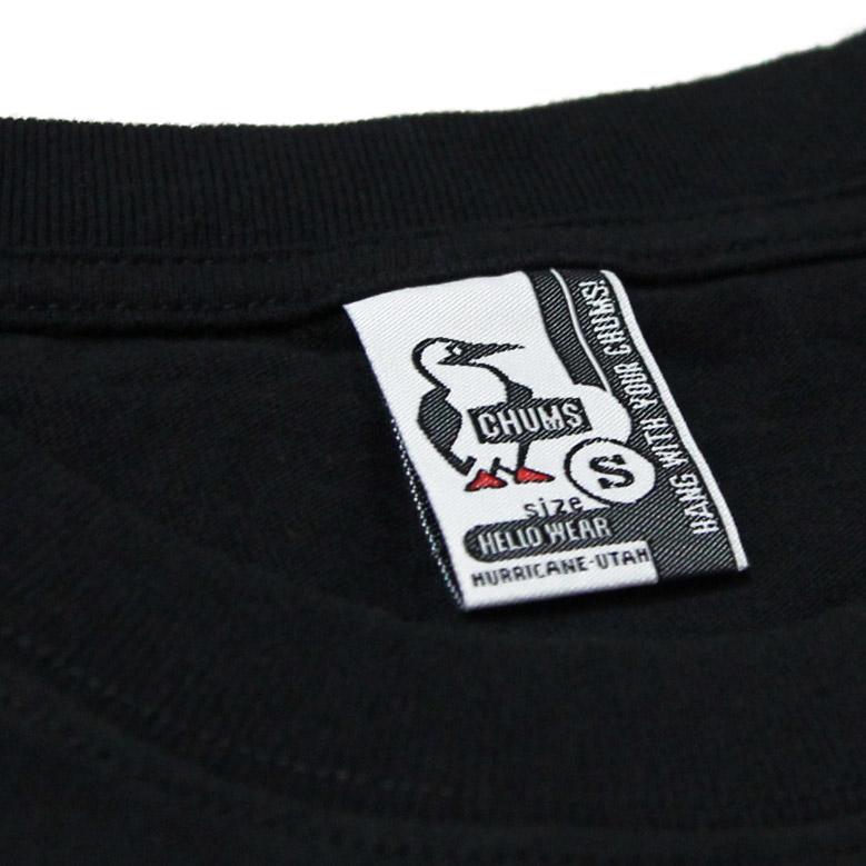 チャムス ブービーフェイスTシャツ CHUMS Booby Face T-Shirt