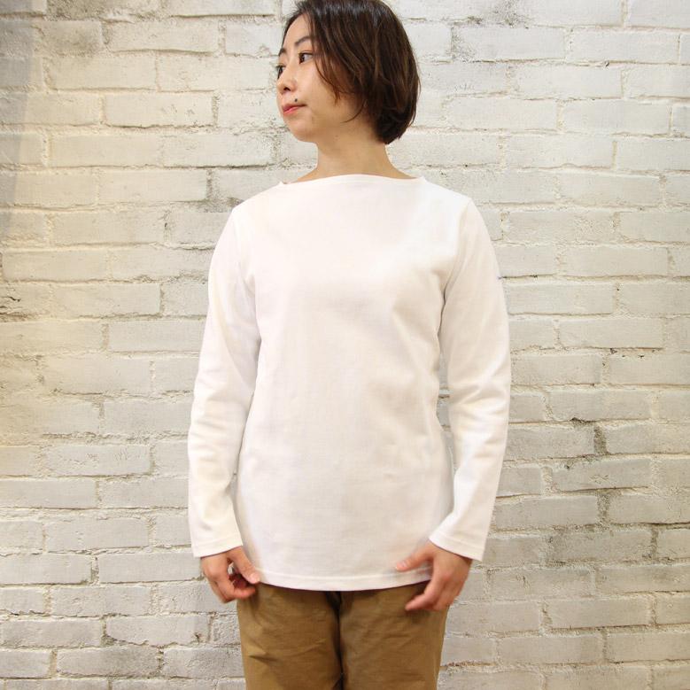 オーシバル コットンロードフレンチバスクシャツ ソリッド ORCIVAL SOLID B211