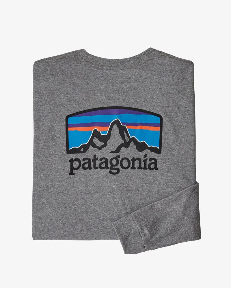 メンズ・ロングスリーブ・フィッツロイ・ホライゾンズ・レスポンシビリティー patagonia Men's Long-Sleeved Fitz Roy Horizons Responsibili-Tee 38514