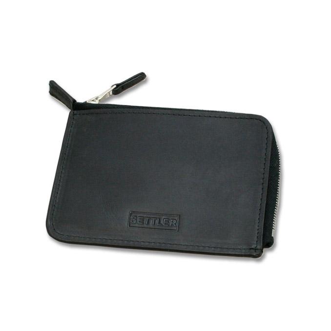 セトラー SETTLER OW-2880 ZIP CARD CASE ブラック