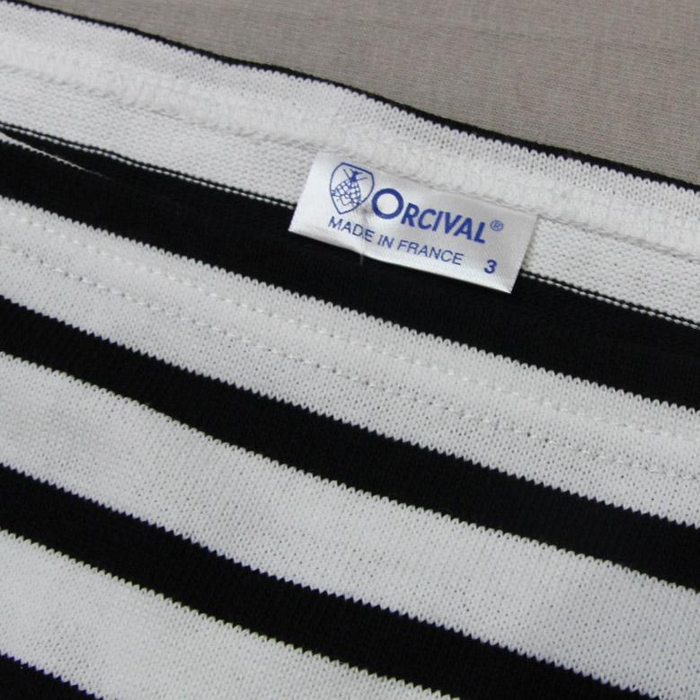 オーシバル コットンロードフレンチバスクシャツ ボーダー ORCIVAL B211