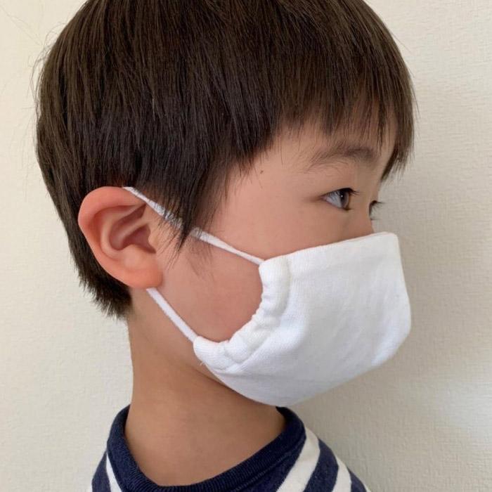 ティージーオーセンティッククラシック キッズ サマーニットダブルフェイスマスク 子供用 Tieasy Authentic Classic kids mask