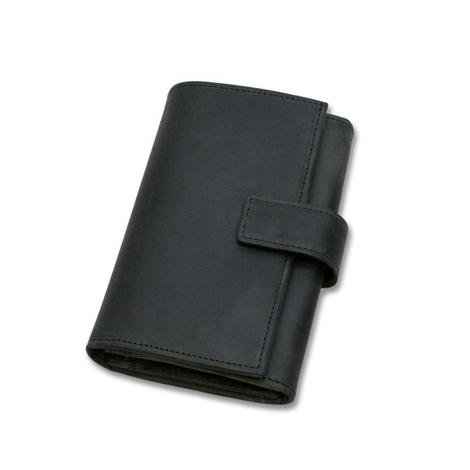 セトラー SETTLER レザー 財布 メンズ OW-9696 ZIP COIN PURSE WITH TAB ブラック サイフ men's