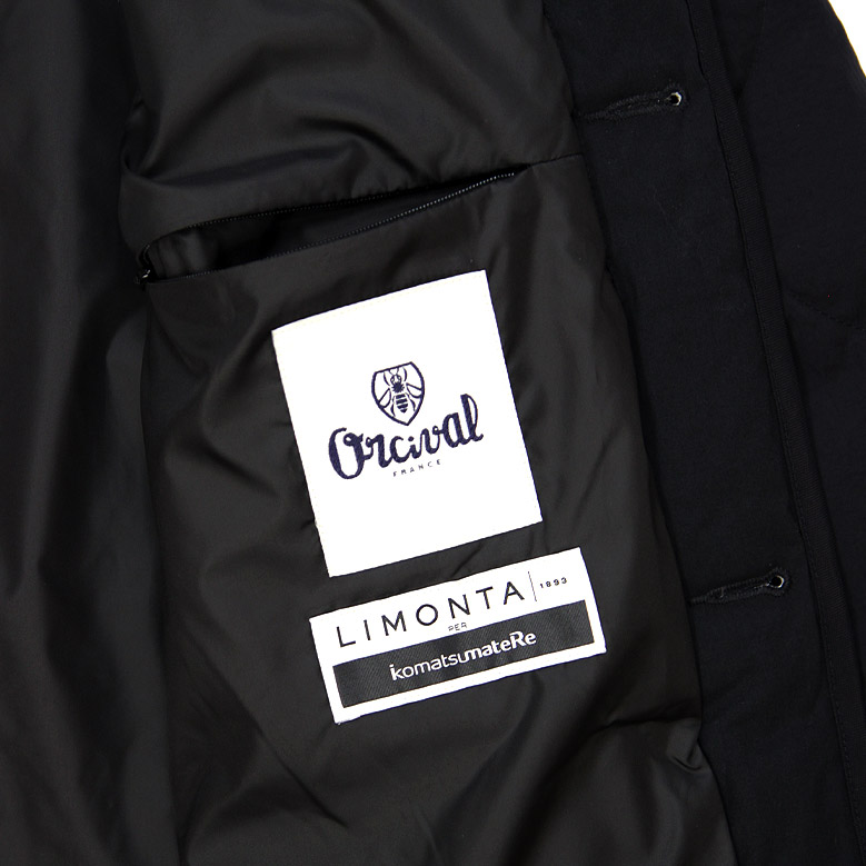 オーシバル キルトダウン ノーカラーコート オーチバル レディース ORCIVAL RC8081NMB 2020秋冬