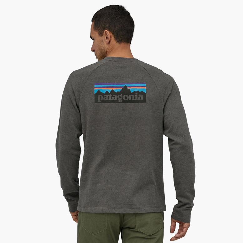 パタゴニア メンズ・P-6 ロゴ・ライトウェイト・クルー・スウェットシャツ Patagonia MS P-6 LOGO LW CREW SWEATSHIRT 39550 2020春夏
