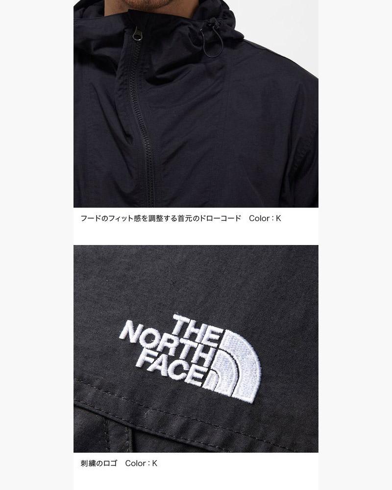 ノースフェイス THE NORTH FACE コンパクトアノラック COMPACT ANORAK NP21735